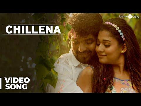 Official : Chillena Video Song | Raja Rani | Aarya, Jai, Nayanthara, Nazriya Nazim