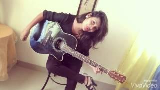 Raja Ko Rani Se Pyar | guitar | cover song | shubhangi pant