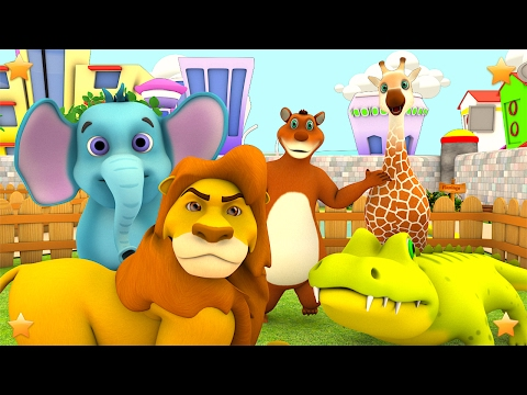 The Zoo Song We're going to the Zoo Animals Song Kindergarten Songs