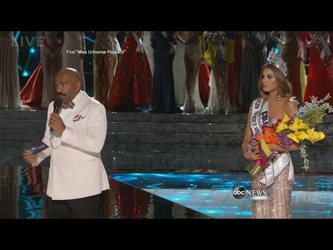 Steve Harvey Crowns the Wrong Miss Universe 2015 | ABC News