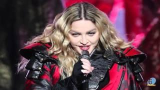 Madonna expose le sein d'une fille de 17 ans lors d'un concert