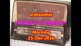 Radio Ceylon 25-12-2016~Sunday Morning~02 Purani Filmon Ka Sangeet