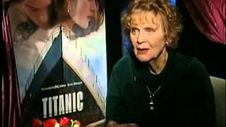 Gloria Stuart (Old Rose) Interview for Titanic in 1997