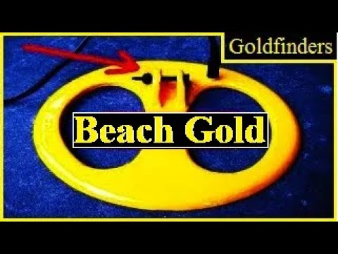 GOLD ON THE BEACH.6 We show you exactly where the heavier gold items can be found