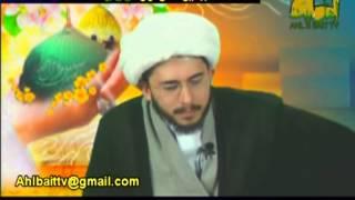 متصل يحاول احراج الشيخ حسن ياري وانظرو الرد