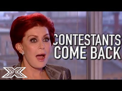 When Contestants COME BACK Part 2 X Factor Global