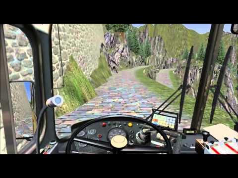 Omsi Simulador de ônibus Roemerberg V2.0 Gletscher Xpress.
