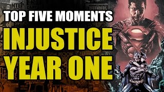 Top 5 Injustice Year One Moments