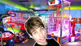 DESTROYING THE GAMES FOR ARCADE TICKETS! | Arcade Nerd |