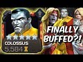 Colossus Finally Buffed?! - Omega Red & Emma Frost Synergy Test - Marvel Contest Of Champions