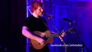 Ed Sheeran Wake Me Up Live From The Artists Den