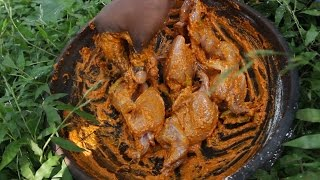 How to Make Quail Fry Recipe Village Style - Street Food - Country Food