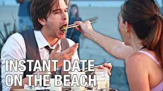 How To Set Up An INSTANT DATE On The BEACH