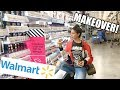 I GAVE MYSELF A WALMART MAKEOVER | Hair, Makeup, and Outfit