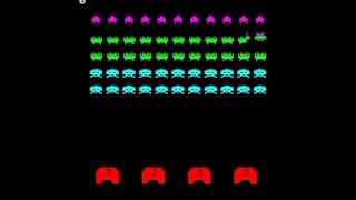 SPACE INVADERS PART 2 ARCADE MAME VIDEO GAME TAITO 1979 invadpt2.avi.MP4