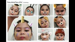 E33 My Furry Animal Faces | Uriel TV