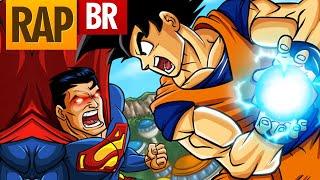 Goku VS Superman: Batalha de Rap