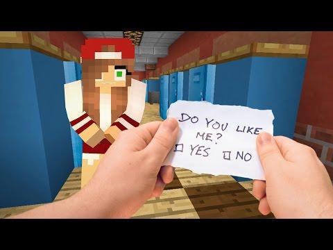 Xxx Mp4 Realistic Minecraft Highschool Girlfriend ❤️️ 3gp Sex