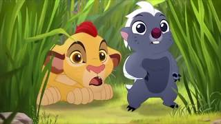 The Lion Guard The Morning Report - Baby Fuli And Baby Kion & Bunga Meet Pua's Float Scene [HD]