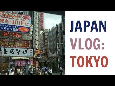 Japan Vlog 2016 | Tokyo