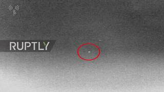Israel: IDF releases footage of missile downing drone entering from Syria