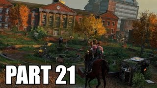 The Last of Us Remastered Grounded Walkthrough Part 21 - The University No Damage PS4