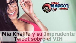 Mia Khalifa y su imprudente Tweet sobre el VIH