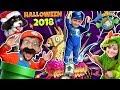 FUNnel Fam Halloween 2018 Vlog! (Spooky Vision w/ Super Mario & Fortnite)
