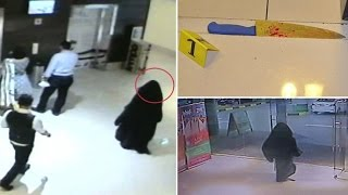 CCTV of attacker who stabbed American mother in Abu Dhabi