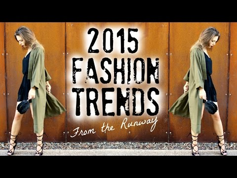 Xxx Mp4 2015 Fashion Trends How To Style Runway Trends 3gp Sex