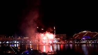 2012-08-18 Darling Harbour Fireworks