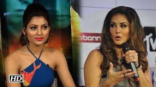Sunny Leone Reacts on Urvashi
