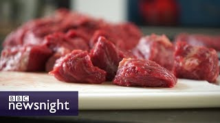 Would you eat meat grown in a lab? - BBC Newsnight
