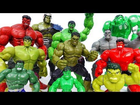 Hulk Toys Collection Grrrr No One Is Match For Hulk ToyMart TV