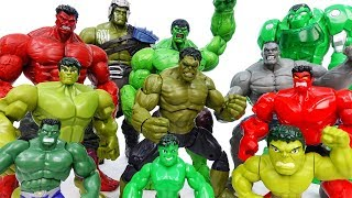 Hulk Toys Collection~! Grrrr No One Is Match For Hulk - ToyMart TV