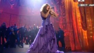 Leona Lewis -  Bleeding Love (Live At Brit Awards) HQ