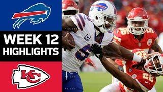 Bills vs. Chiefs | NFL Week 12 Game Highlights