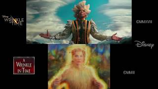 A Wrinkle in Time: 2003/2018 Side-by-Side (Teaser Trailer)