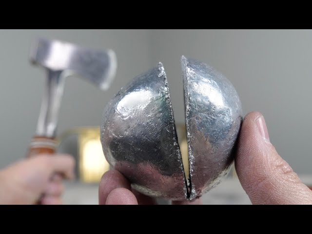 What's inside a Polished Japanese Foil Ball?