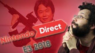 [LIVE BUGUÉ] Ermite réagit au Nintendo Direct E3 2018 (lire description)