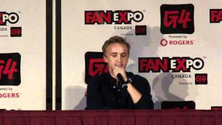 Tom Felton talks Fanfictions, Drarry, Dramione, Drapple, Alan Rickman Q&A Fan Expo Canada 8/28/11