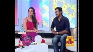 Kajal speaking fluent Tamil - Funny Clip: Diwali Special Thanthi TV