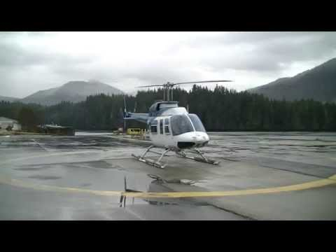 Bell 206L Long Ranger Start up and Departure