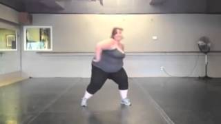 VIDEO: 27 stone 'Fat Girl Dancing' sensation gets her own TV show