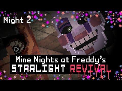 Xxx Mp4 MINE Nights At Freddy 39 S 5 Starlight Revival Night 2 Minecraft FNAF Roleplay 3gp Sex