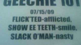 Geechie 101 Phrases of the Day FLICK'TED, SHOW EE TEET', SLACK O'MAN