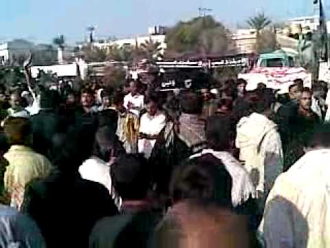 10 Muharram Kama matam In Nishter Park Karachi 2010 2011 video By SHAN STRIKER ALI