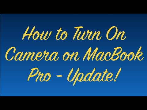 Xxx Mp4 How To Turn On Camera On MacBook Pro Update 3gp Sex