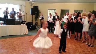 9 year old girl's Irish dance at Diane & Steve's wedding reception 7/13/13 -