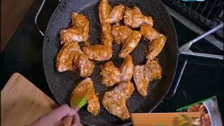 لقمة هنية - صنية فراخ بالخضروات  - بطاطس محشية لحمة وجبة   - اجنحة دجاج مبهرة